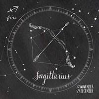 Night Sky Sagittarius. Fine-Art Print