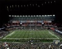 The New England Patriots unveil the Super Bowl XLIX championship banner at Gillette Stadium 2015 Fine-Art Print
