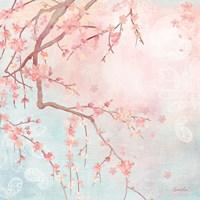 Sweet Cherry Blossoms IV Fine-Art Print