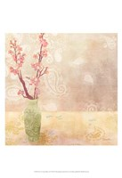 Vase of Cherry Blossoms I Fine-Art Print