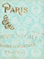 Paris in Gold I Fine-Art Print