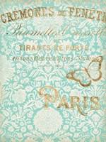 Paris in Gold II Fine-Art Print