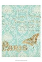 Paris in Gold III Fine-Art Print