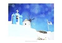 Santorini I Fine-Art Print