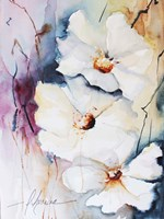 Blooms Aquas I Fine-Art Print