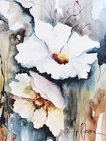 Blooms Aquas II Fine-Art Print