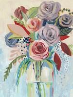 Roseate Posy I Fine-Art Print