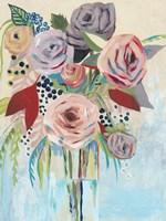 Roseate Posy II Fine-Art Print