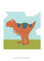 Playtime Dino I Fine-Art Print