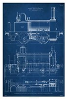 Locomotive Blueprint II Fine-Art Print