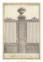 Antique Decorative Gate I Fine-Art Print