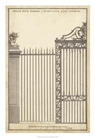 Antique Decorative Gate II Fine-Art Print
