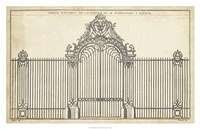 Antique Decorative Gate III Fine-Art Print