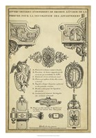 Antique Decorative Locks II Fine-Art Print