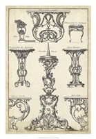 Antique French Ornament I Fine-Art Print