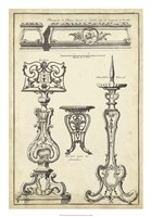 Antique French Ornament II Fine-Art Print