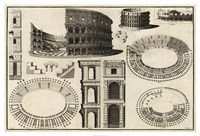 Diagram of the Colosseum Fine-Art Print