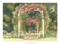 Aquarelle Garden IV Fine-Art Print