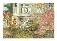 Aquarelle Garden V Fine-Art Print