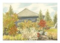 Aquarelle Garden VI Fine-Art Print