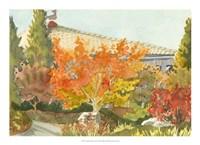 Aquarelle Garden VII Fine-Art Print