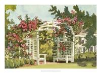 Aquarelle Garden VIII Fine-Art Print
