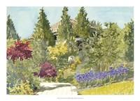 Aquarelle Garden IX Fine-Art Print
