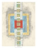 Squares in Line I Fine-Art Print