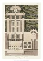 Plan De La Villa Barberini Fine-Art Print
