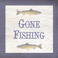 Gone Fishing Salmon Fine-Art Print