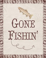 Gone Fishin' Fine-Art Print