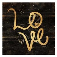 Love Gold Fine-Art Print