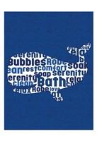 Whale Letters Fine-Art Print