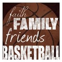 Basketball Friends Fine-Art Print