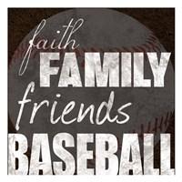 Baseball Friends Fine-Art Print
