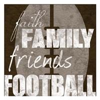 Football Friends Fine-Art Print
