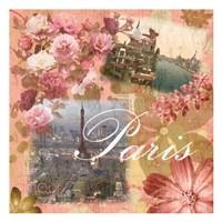 Paris Amour Coral Fine-Art Print