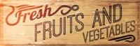 Fresh Fruits And Vegetables Fine-Art Print