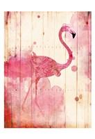 Flamingo Henna Fine-Art Print