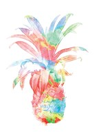 Colorful Pineapple Clean Fine-Art Print