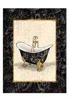 Black Gold Bath Fine-Art Print