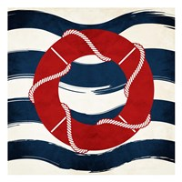 Lifesaver Waves Fine-Art Print