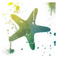 Starfish Splatter Fine-Art Print