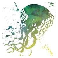 Jellyfish Splatter Fine-Art Print
