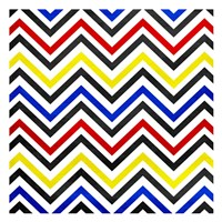 Pop Chevrons Fine-Art Print
