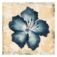 Blue Flower Mate Fine-Art Print