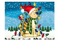 Christmas Cat Fine-Art Print