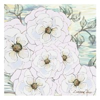 White Water Flowers 1 Fine-Art Print