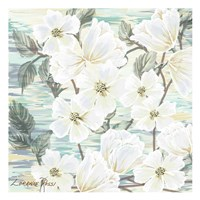 White Water Flowers 2 Fine-Art Print