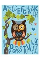 Owl Set Numlet 1 Fine-Art Print